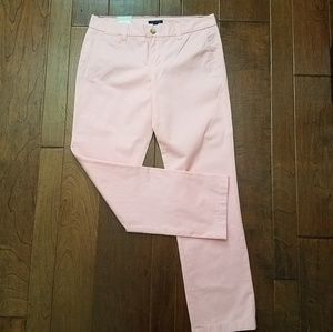 Tommy Hilfiger pink Avery trouser pants NWT